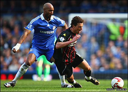 Nicolas Anelka and Elano
