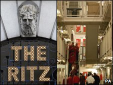 The Ritz and a UK prison