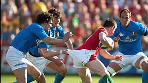 Andrea Marcato, Italy; Shane Williams, Wales