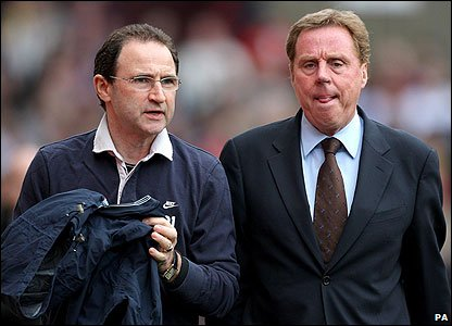 Martin O'Neill and Harry Redknapp