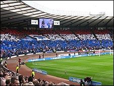 The Rangers end at Hampden