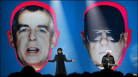 Pet Shop Boys at the Brit Awards