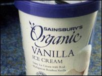 Органическое мороженое