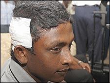 Sri Lankan cricketer Ajantha Mendis