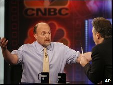Jim Cramer on The Daily Show