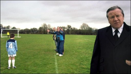 Ray Winstone stars in an advert for the Football Association