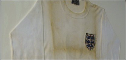 England jersey from estate of Dickie Best