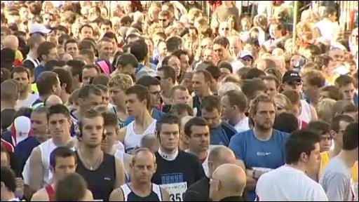 Bath Half-marathon 2009