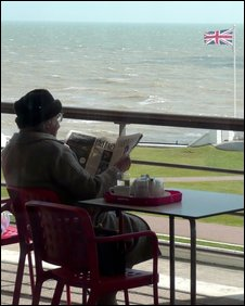 Woman at Bexhill