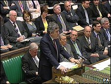 Gordon Brown at PMQs