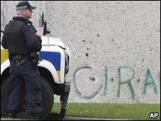 Policeman in Craigavon
