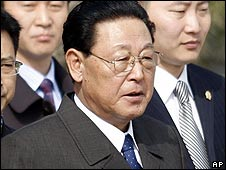 North Korean Premier Kim Yong-il arrives in Beijing (17 March)