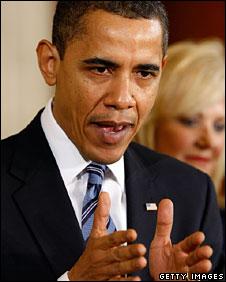 US President Barack Obama, 16 March