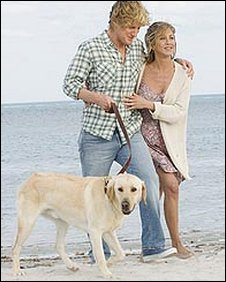 Scene from Marley and Me