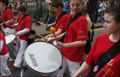 St Patrick's Day parade Belfast
