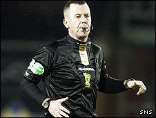 Scottish referee Eddie Smith