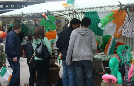 Stalls, Waterloo Place, Derry
