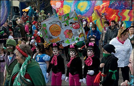 St Patrick's Day parade, Derry