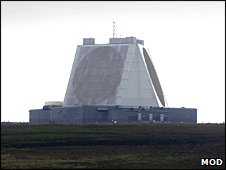 "The ""pyramid"" radar at RAF Fylingdales"