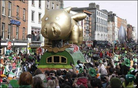 Dublin parade