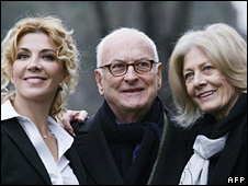 Natasha Richardson, Director James Ivory and actress Vanessa Redgrave