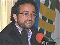 Jorge Molano, abogado defensor de DD.HH.