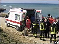 Машина скорой помощи на Сицилии
