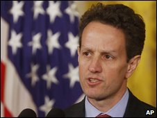 Timothy Geithner, 16/03