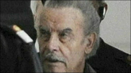Josef Fritzl in court (17/03/09)