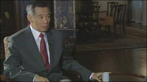 Singapore's Prime Minister, Lee Hsien Loong