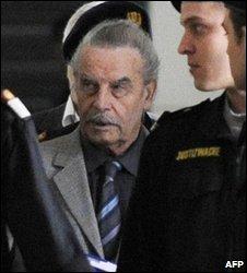 Josef Fritzl on 17 March 2009