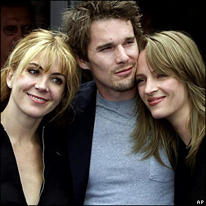 Natasha Richardson, Ethan Hawke and Uma Thurman