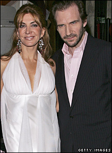 Natasha Richardson and Ralph Fiennes