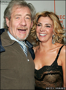 Sir Ian McKellen and Natasha Richardson