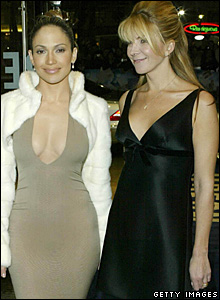 Jennifer Lopez and Natasha Richardson