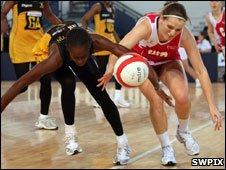 Netball at Skydome Arena (SWPix)