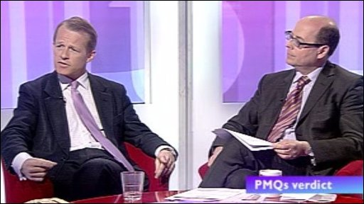 David Laws MP and Nick Robinson