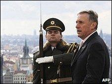 Czech Prime Minister Mirek Topolanek