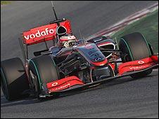 McLaren driver Heikki Kovalainen