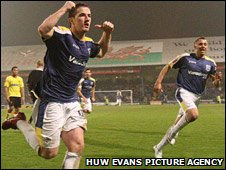 Ross McCormack celebrates his last-gasp winner