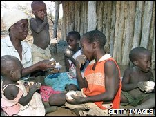 Food shortages in Zimbabwe