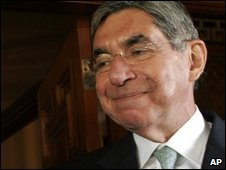 Costa Rican President Oscar Arias, file image