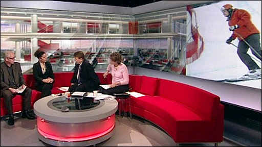 BBC Breakfast studio