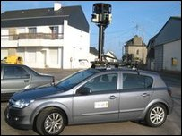 Street View car (Google)