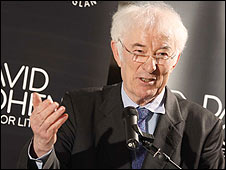 Seamus Heaney. Picture by Graham Jepson