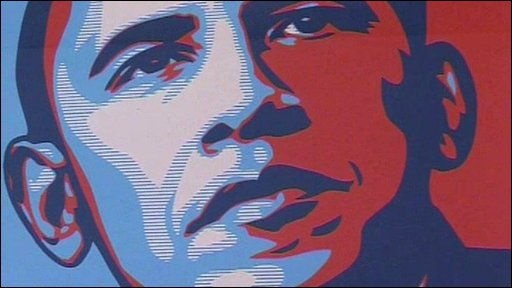Barack Obama progress poster
