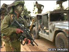 Israel special forces during Gaza conflict