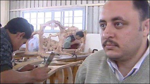 Furniture workshop sales director