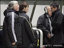 Joe Kinnear and Phil Brown