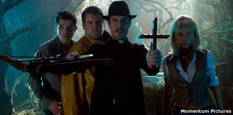 Mathew Horne, James Corden, Paul McGann and Myanna Buring